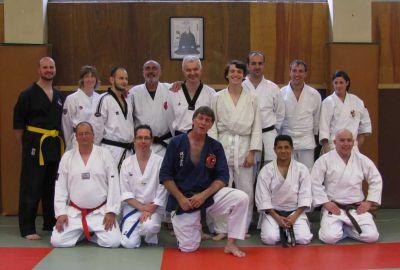 AEKJ DKI kuysho jitsu 3ème niveau