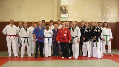 points vitaux / de pressions - taekwondo hapkido